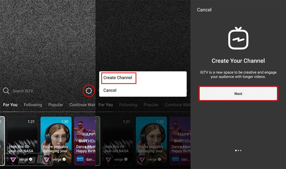 آموزش ساخت کانال در IGTV اینستاگرام