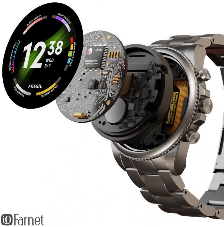 ساعت هوشمند فسیل